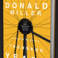 On the flight home from Boston, I finished the book A Millions Miles in a Thousand Years by Donald Miller. It was GREAT, I loved it. The book is simply a collection of stories in […]